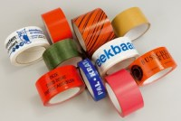 Bedrukte Tape, bedrukte kleefband, bedrukte plakband, security tape